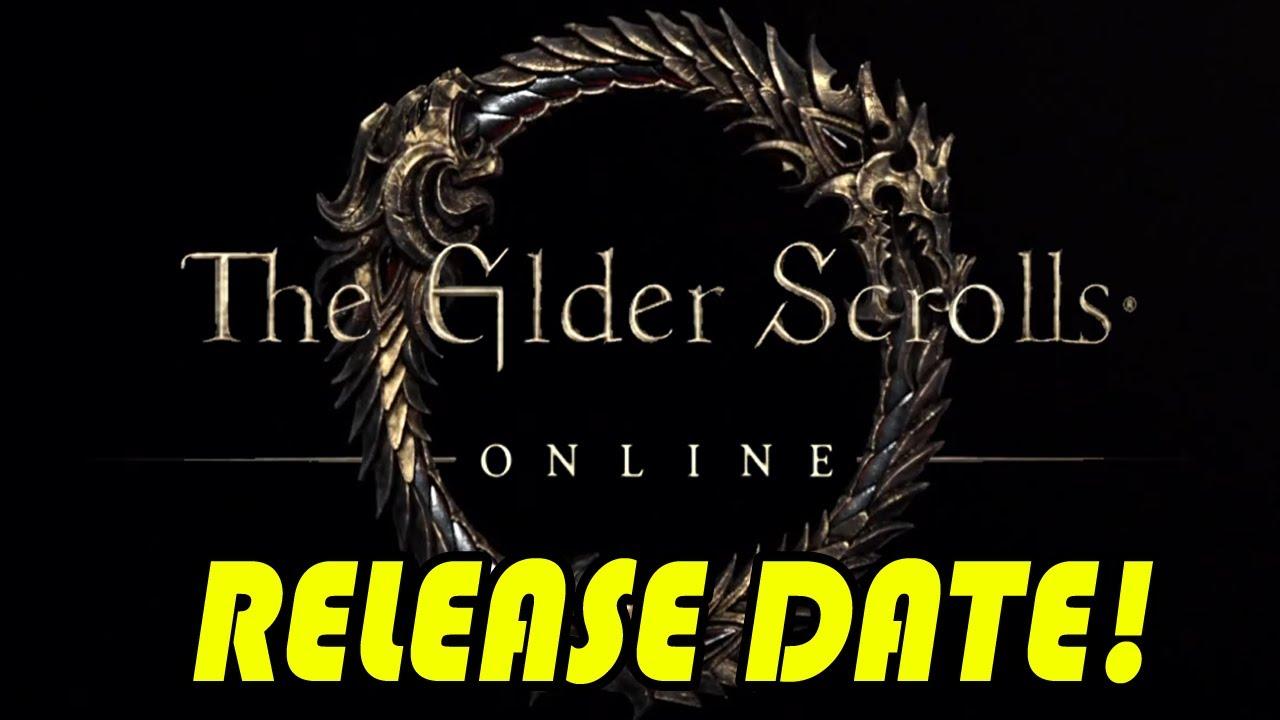 Elderscrolls online release date in Melbourne