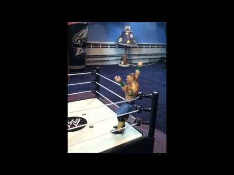 EWE John Cena vs Batista (Stop Motion) (HD)