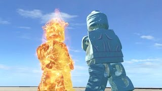 LEGO Human Torch Vs Iceman LEGO Marvel Super Heroes