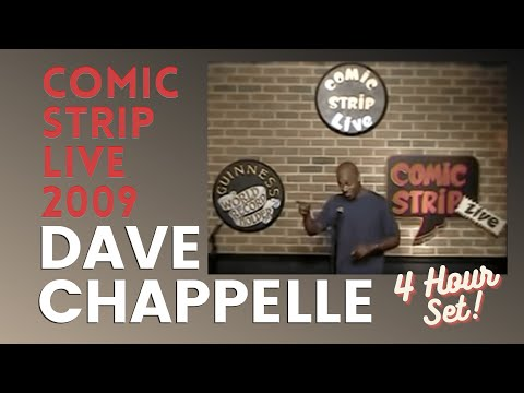 "Dave Chappelle epic 4 hour comedy set @  ""Comic Strip Live, NYC"" (2/27/09) AUDIO RESTORED"