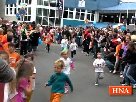 1150 Starter beim Fitnesslauf in Frankenberg