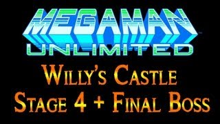 Mega Man Unlimited Gameplay Walkthrough Wily Castle Stage