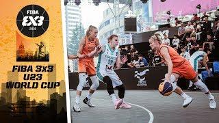 Кубок Азии по баскетболу 3х3 U-23 среди женских команд 2018 - Групповой этап: Казахстан - Нидерланды