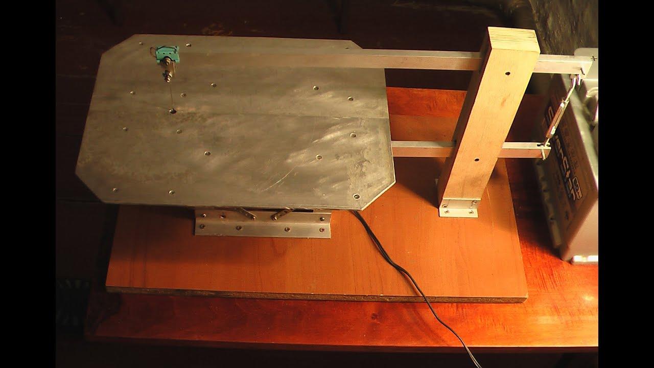 Настольный электролобзик своими руками Строительный 56