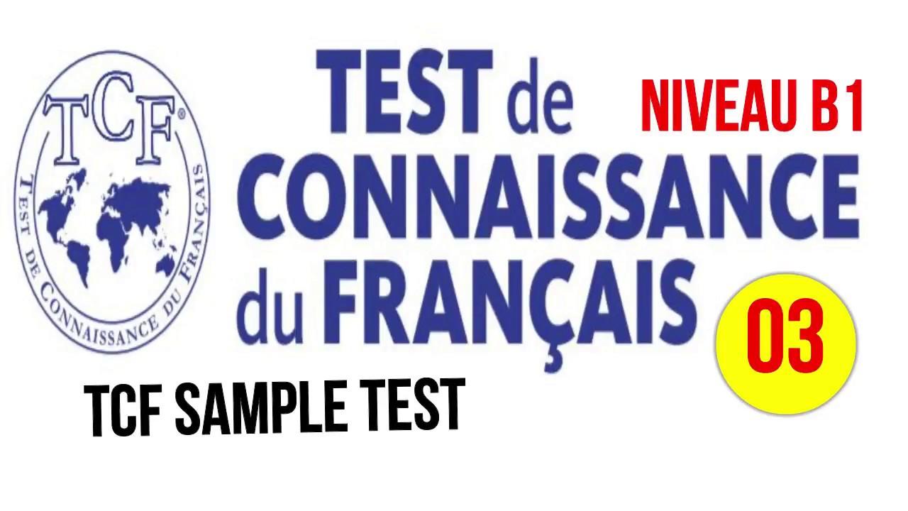 test de niveau français b1