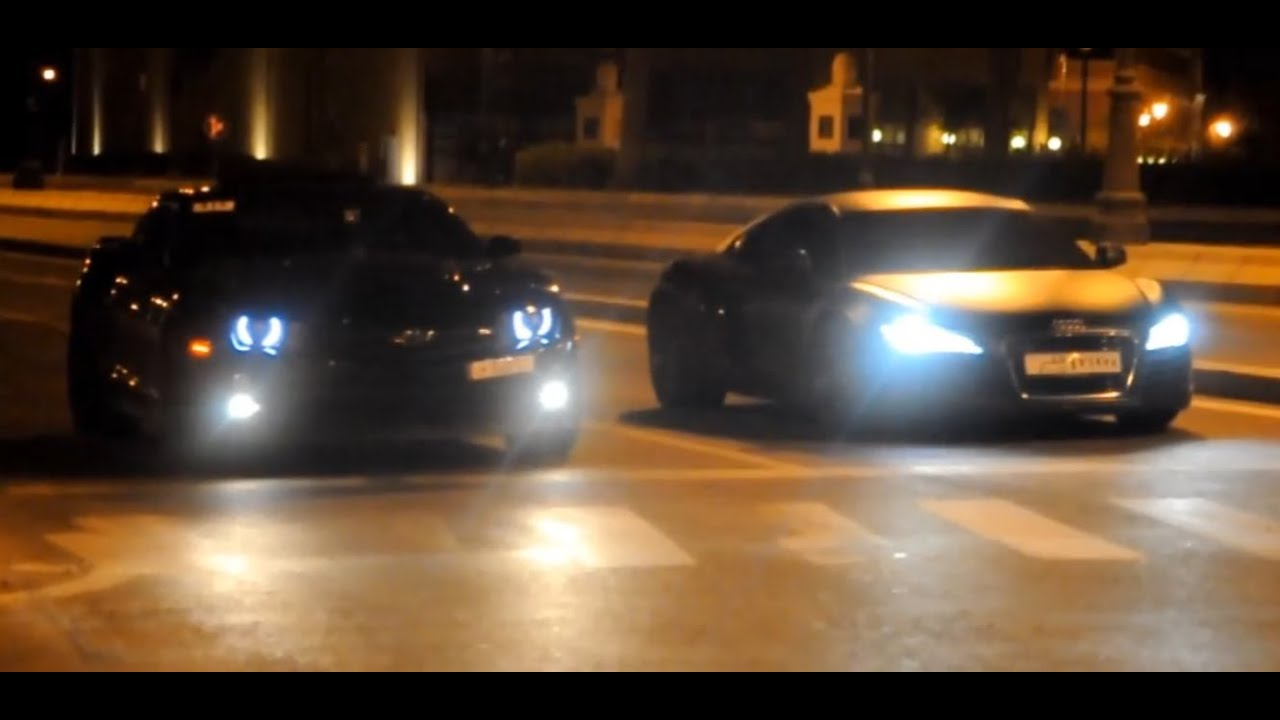 Camaro Zl1 Vs Audi R8 Youtube