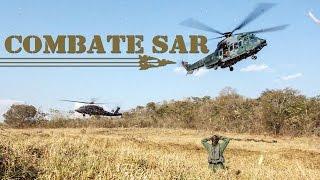 Em uma missão de Combate SAR estão envolvidos esquadrões de helicópteros, aeronaves de reconhecimento, além de pessoal especializado em operações especiais para guiamento aéreo avançado.