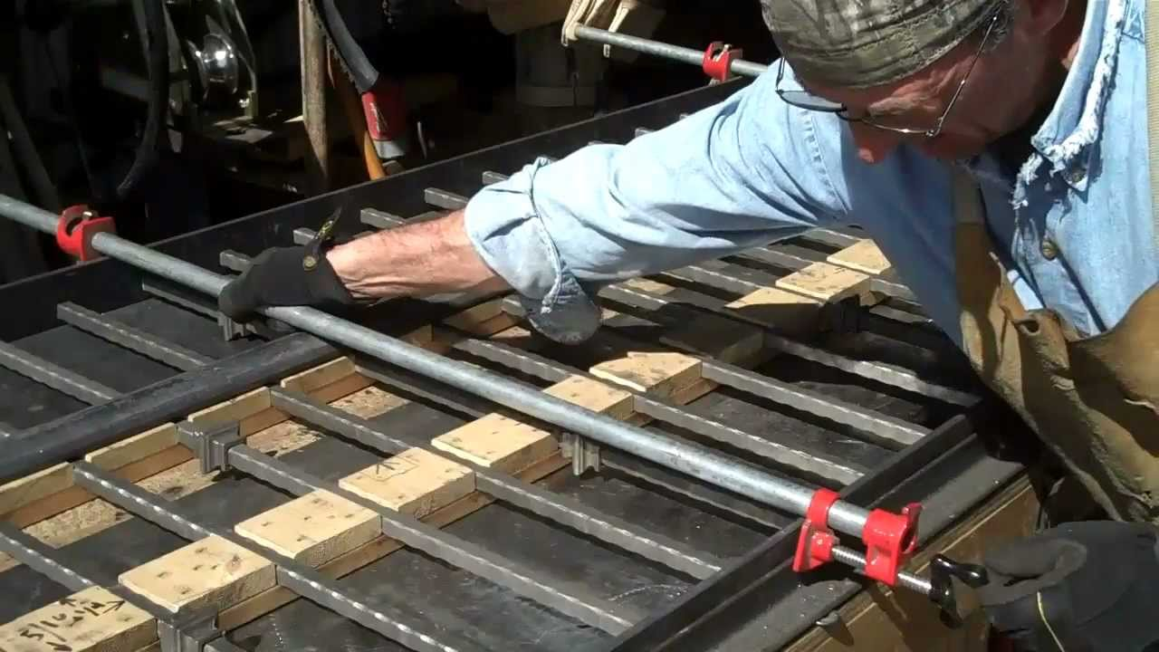 How To Weld Iron Railings Made Easy By Mitchell Dillman
