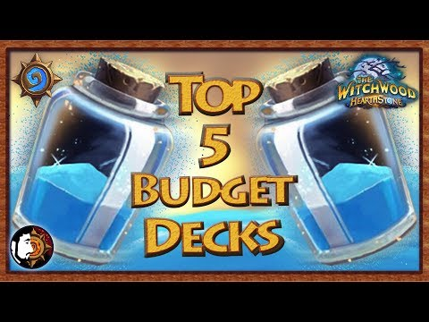Hearthstone: Top 5 Budget Decks To Build - The Witchwood Updated