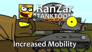 Tanktoon - Zvýšená mobilita