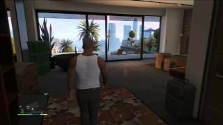 GTA 5 Franklin's New House: Pool, Fireplace, Telescope