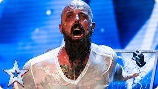 Matt Johnson has Judges holding their breath IN FEAR! | Auditions Week 1 | Britain's Got Talent 2018