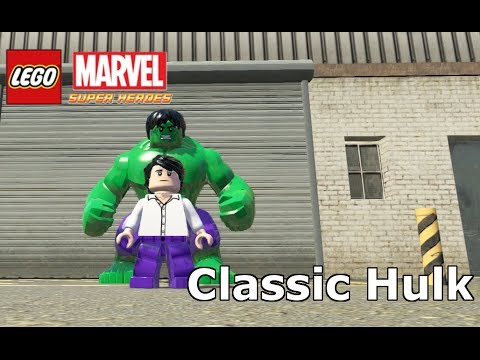 LEGO Marvel Super Heroes The Video Game Classic Hulk Mod