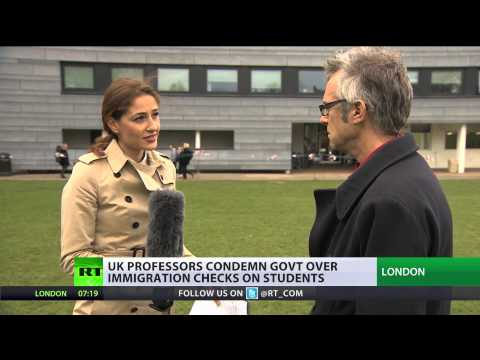 Border Bully: UK professors slam govt checks on foreign students