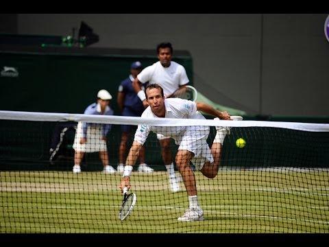 Highlights Day 10: Paes/Stepanek storm past Nestor/Zimonjic - Wimbledon 2014