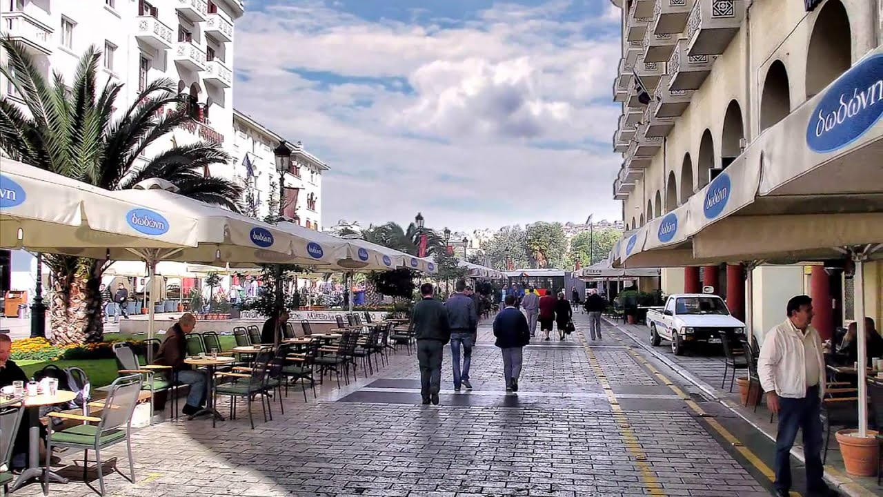 Thessaloniki Greece  city photos gallery : Thessaloniki Greece Tourist attractions Zorba's song .wmv YouTube