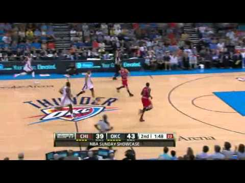 NBA Chicago Bulls VS OKC Thunder Game Recap 04/01/2012