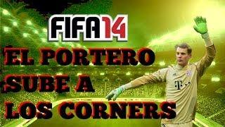 Fifa 2014. El portero sube al corner