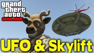 "GTA Online How To Get ""UFO & SKYLIFT"" (Modded Mission"