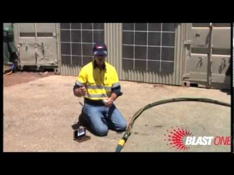 Test your blast nozzle pressure