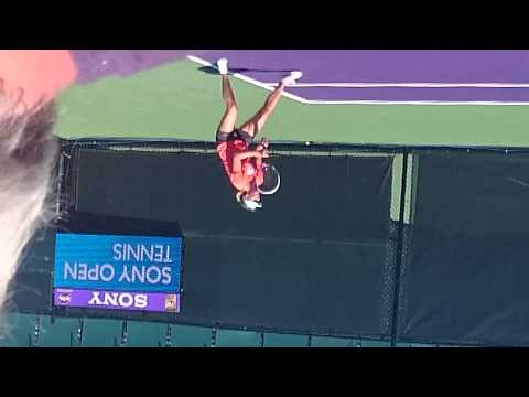 Maria Sharapova Sony OPen Tennis practice