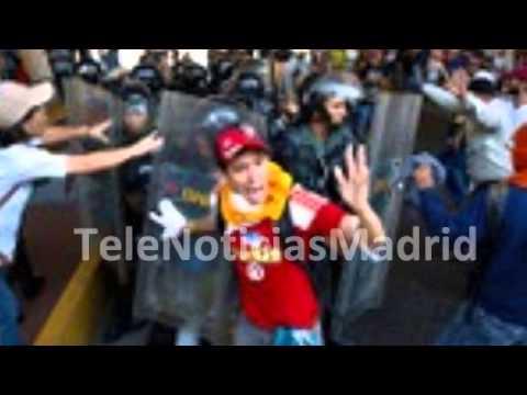 Venezuela La marcha opositora acaba con choques con la Policía