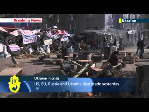 Morning after US-EU-Russia deal on Ukraine