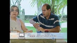 Patchwork Ana Cosentino: Bolsa De Praia ( ESPECIAL DE