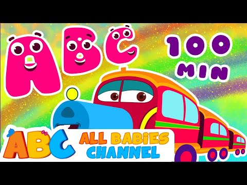 ABC Train Song | ABC Songs for Children & Nursery Rhymes |  | All Babies Channel