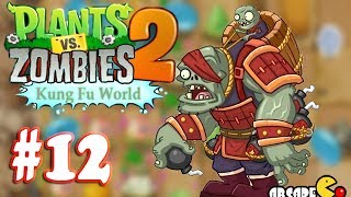 Plants Vs Zombies 2: (NEW Update ZOMBOSS) Kung Fu World