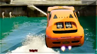 GTA 5 Funny Moments - Stunt Jumps Over Water - (GTA V Online Games Stunts)