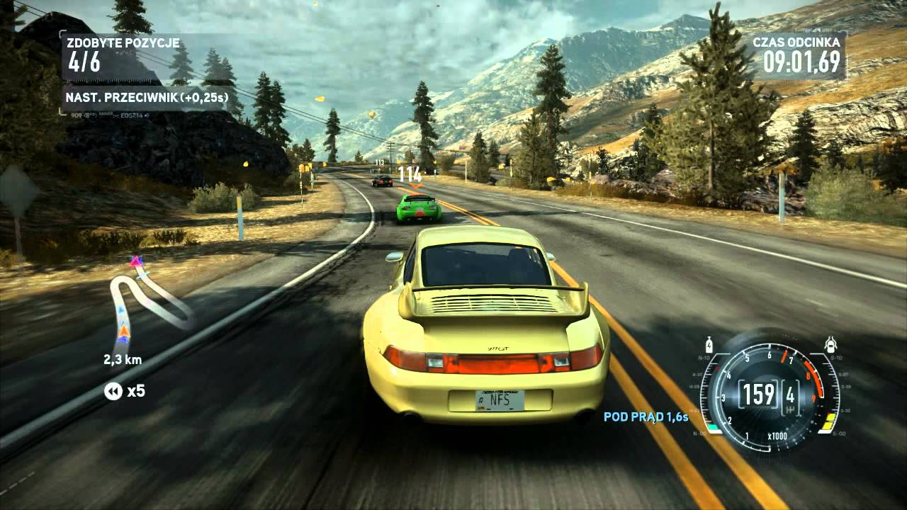 nfs the run porsche 993 gt2 sprint red mountain pass 720p youtube. Black Bedroom Furniture Sets. Home Design Ideas