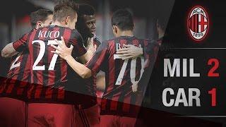 AC Milan-Carpi 2-1   AC Milan Official