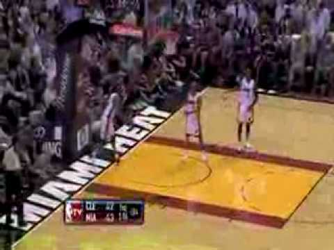 LeBron James vs Dwyane Wade Showdown 1 1-25-2010