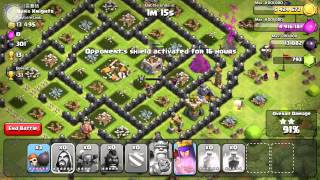 Clash Of Clans Farming In Crystal League Eps. 7 800k