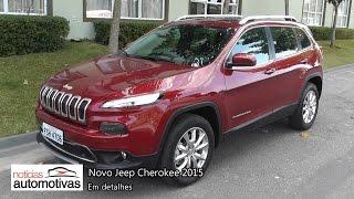 Novo Jeep Cherokee 2015 Detalhes NoticiasAutomotivas