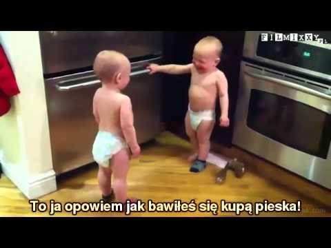Śmieszny filmik - Kłótnia dzieci - Filmixxy.pl