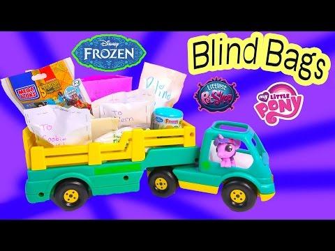 Disney Frozen Fash'ems Blind Bag Handmade Toy Surprise Cookieswirlc MLP Twilight Unboxing Video