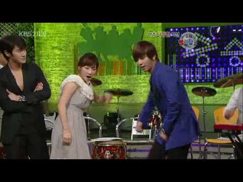 Yonghwa dances to SNSD's Oh