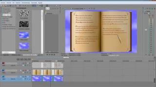 Tutorial Sony Vegas Pro 9 Y Heroglyph: Efecto Libro