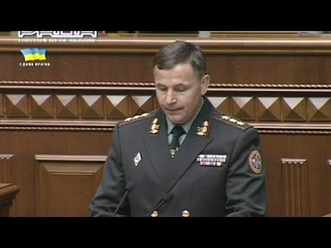 Ukrainian parliament approves a major defence shake-up