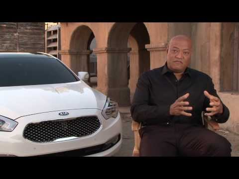 Laurence Fishburne about the Super Bowl spot and the All-New Kia 2015 K900 | AutoMotoTV