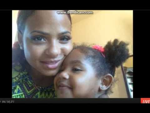 christina Milian ustream 7-7-2013- pt1