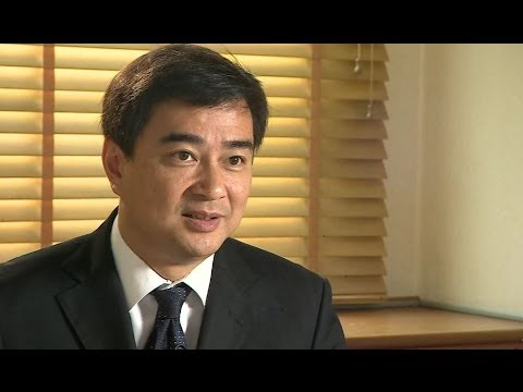 ABHISIT VEJJAJIVA SHINAWATRA 'GOT HER PRIORITIES WRONG' - BBC NEWS