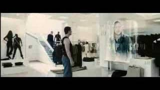 Minority Report Scene Gap Store