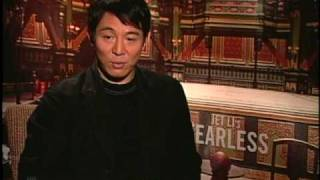 JET LI INJURED IN LAST MARTIAL ARTS FILM