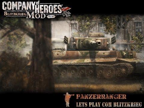 Let's play Company of Heroes Blitzkrieg #11 Team Scandinavia
