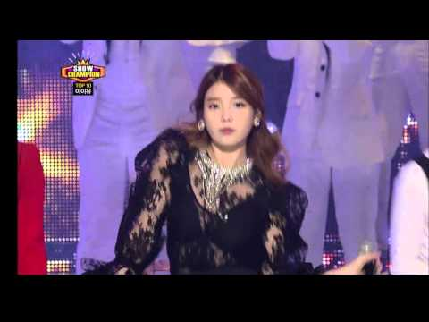 【TVPP】IU - The Red Shoes, 아이유 - 분홍신 @ Comeback Stage, Show Champion Live