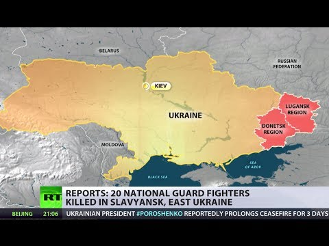 What truce? Kiev 'National Guard' lose 20 in attack on Slavyansk during ceasefire