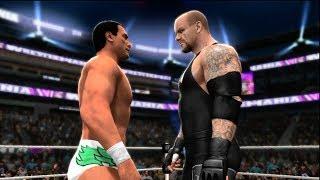 WWE 2K14 Alberto Del Rio Attempts To Defeat The Streak